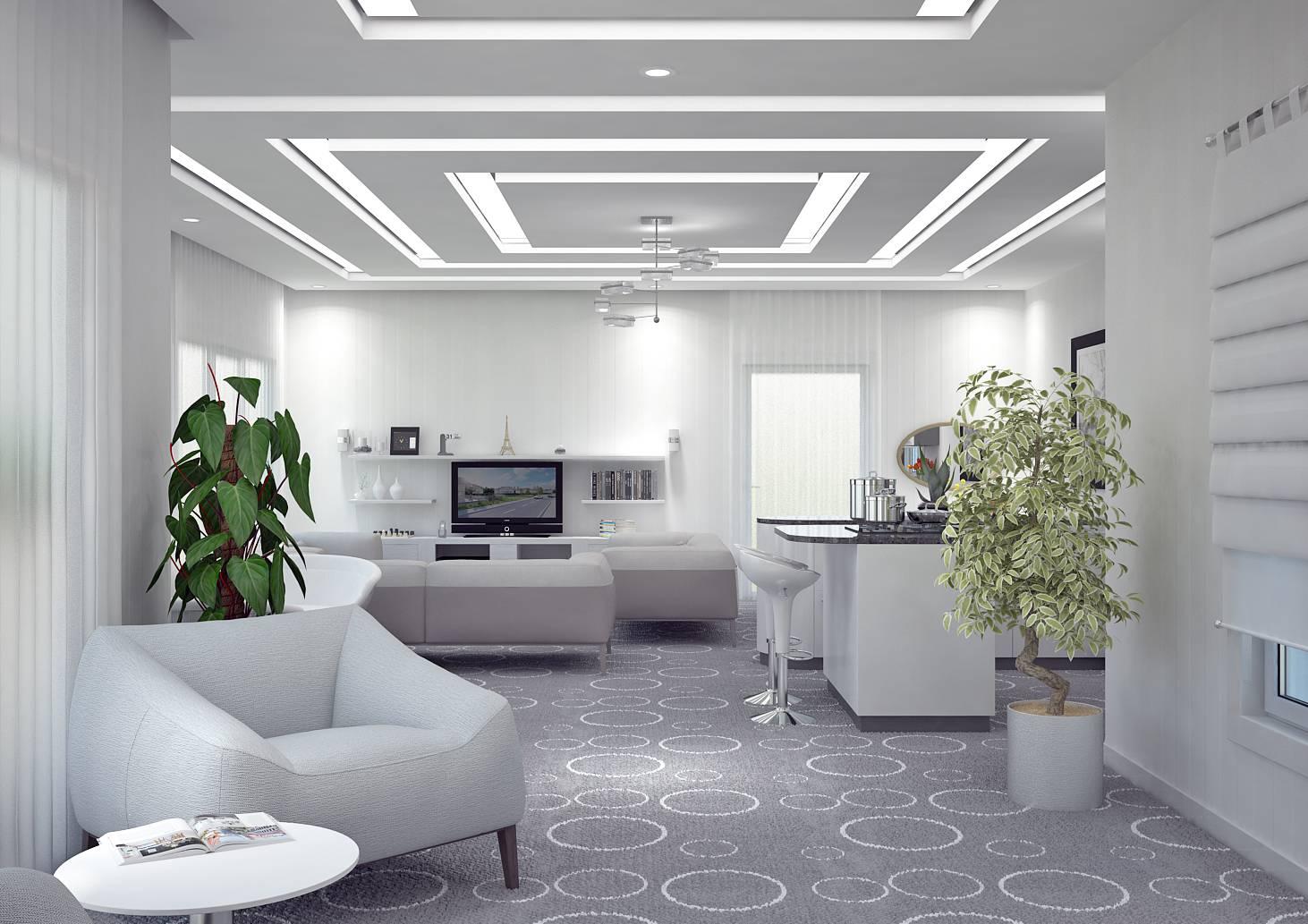 Traditional Gypsum False Ceiling - Best False Ceiling Designs
