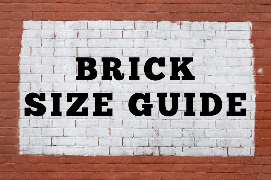 Brick Size Guide Procivilengineer