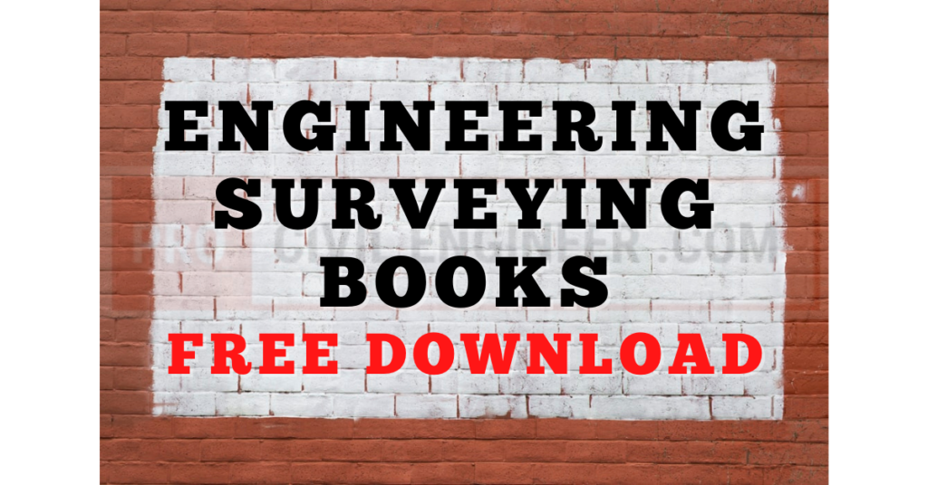 Engineering Surveying Books Free Download