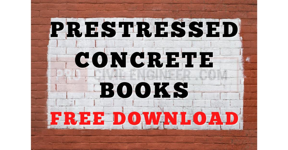 Prestressed Concrete Books Free Download