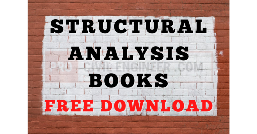 Structural Analysis Books Free Download
